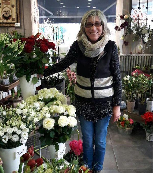 Marie David, Fleuriste à Limoges