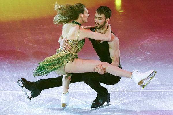 Gabriella Kudryatsev et Guillaume Cizeron le 27 janvier 2019 à Minsk.
