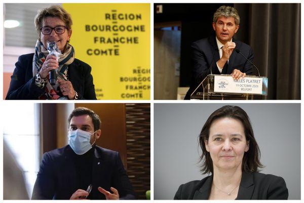 La présidente sortante Marie-Guite Dufay doit se prononcer en mars.