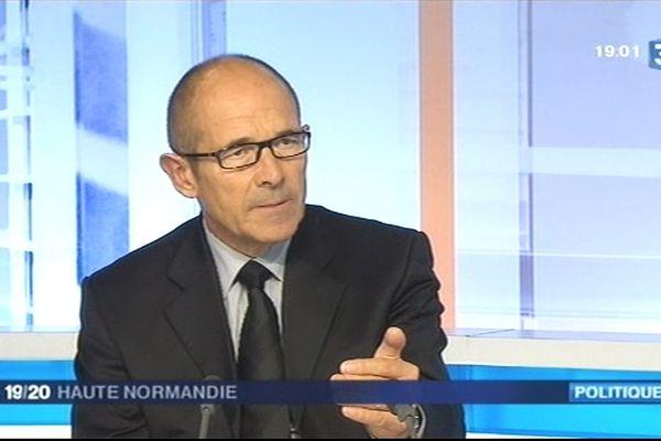 Alain Le Vern a confirmé sur notre plateau lundi qu'il n'y aurait pas de ligne à grande vitesse entre Paris et Le Havre, mais une amélioration de l'existant.