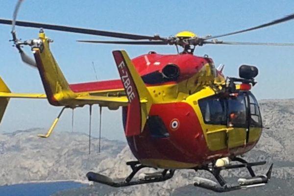 Le Dragon 131 est intervenu sur les lieux de l'accident.