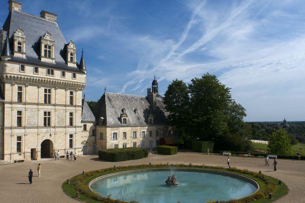 Le château de Valençay.