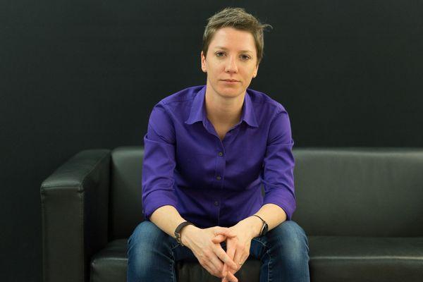Juliette Ledru est présidente de l'association LGBT Exaequo à Reims depuis 2019