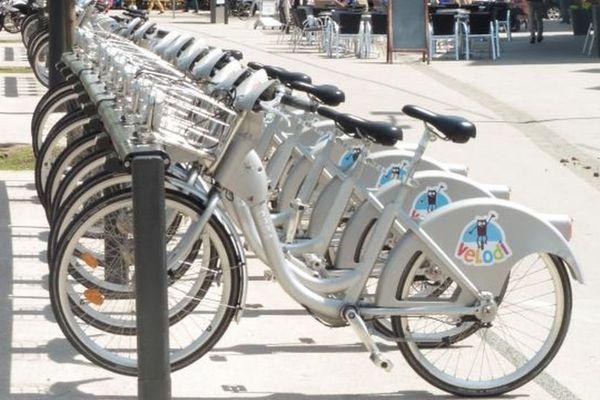 En tout, il y a 40 stations Velodi dans l'agglomération dijonnaise.