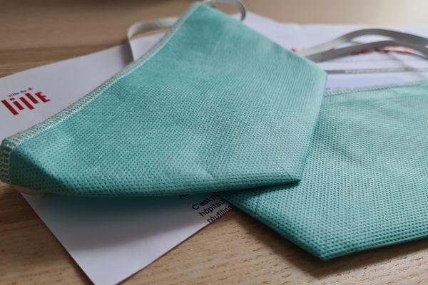 Deux nouveaux masques réutilisables vont être envoyés aux Lillois.