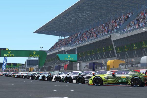 Les tribunes seront virtuellement pleines les 13 et 14 juin prochain pour le départ des 24 Heures du Mans Virtual