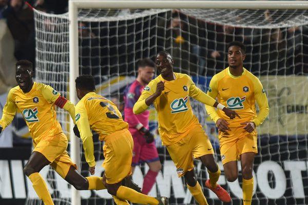 PAU FC le 16 janvier 2020 Coupe de France contre les Girondins de Bordeaux