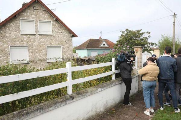 12 octobre 2019. A limay dans les Yvelines devant le domicile de Guy Joao, l'homme que la police écossaise suspectait d'être Xavier Dupont de Ligonnès