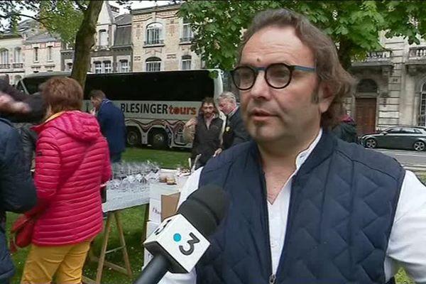 Sébastien David est vigneron bio depuis 1999 en Indre-et-Loire (Centre-Val de Loire).