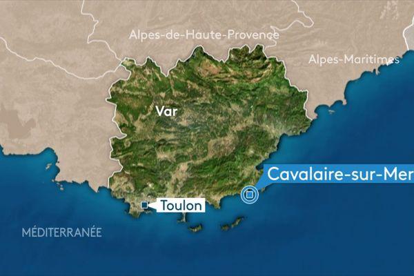 Cavalaire-sur-Mer, dans le Var.