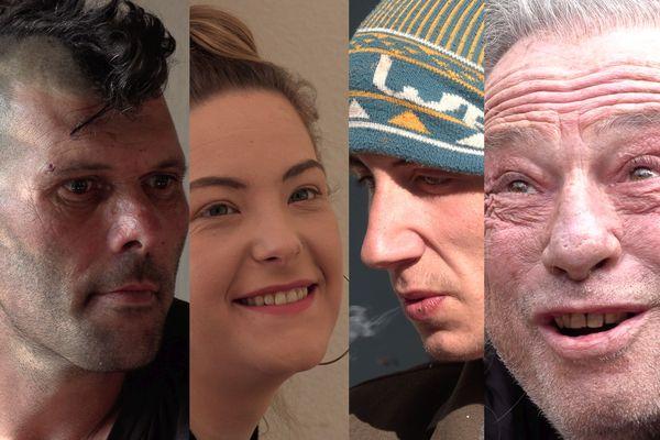 Guillaume, Lohana, Brian et Jacques, quatre histoires de vie dans la précarité