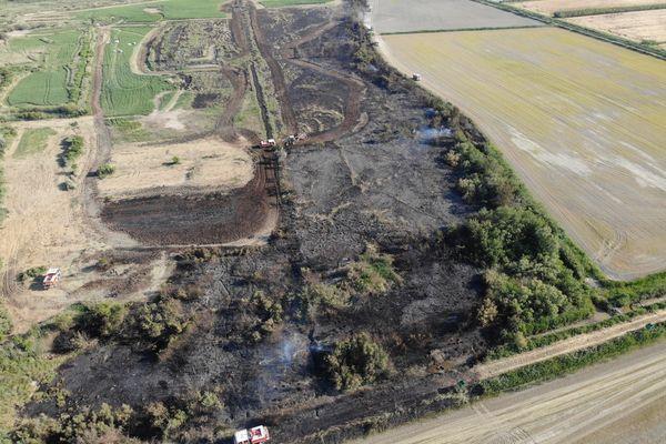 75 pompiers ont été mobilisés au plus fort du feu