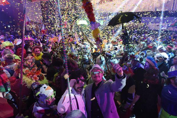 Dans la salle du Kursaal, 10 000 personnes ont chahuté l'année dernière