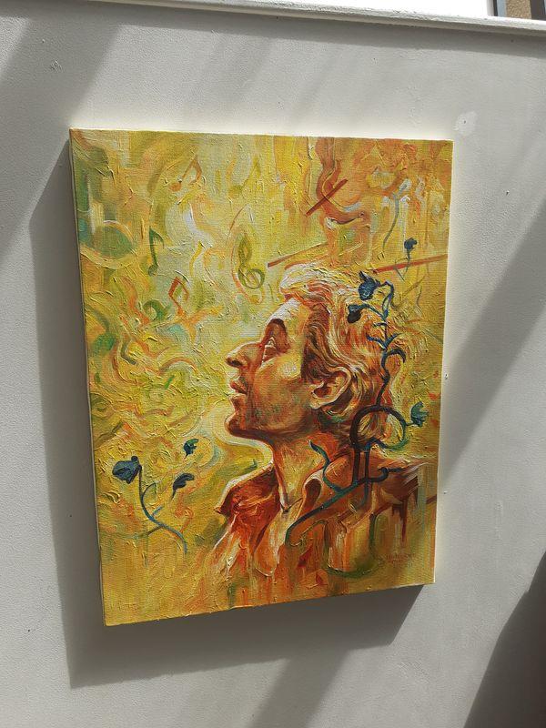 Œuvre de Gwendal Lemercier à voir pendant l'exposition Partitions Urbaines