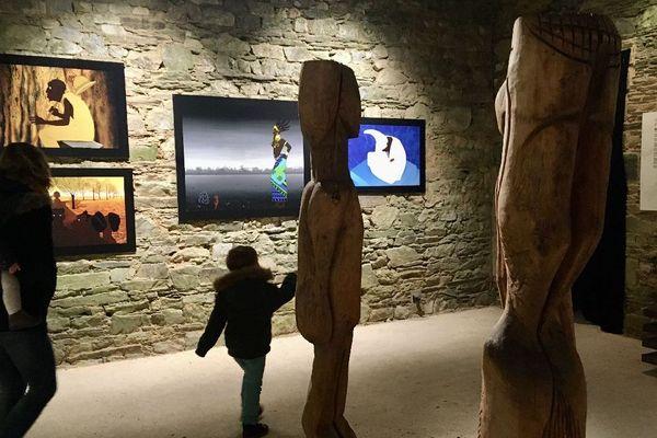 L'exposition Kirikou dans les murs de l'abbaye de Bon Repos