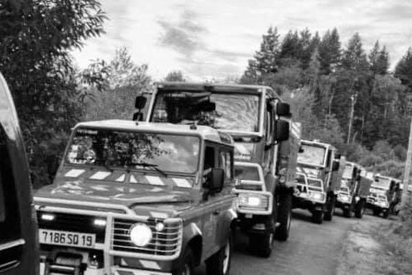 Les services d'incendie de Haute-Vienne, de Creuse et de Corrèze mobilisés