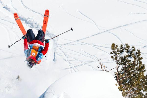 Wadeck Gorak skieur de l'extrême.