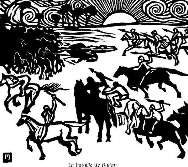 la bataille de Ballon, par Jeanne Malivel: L'Histoire de Notre Bretagne, 1922