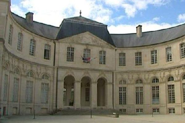 Le Centre Mondial de la Paix, à Verdun.