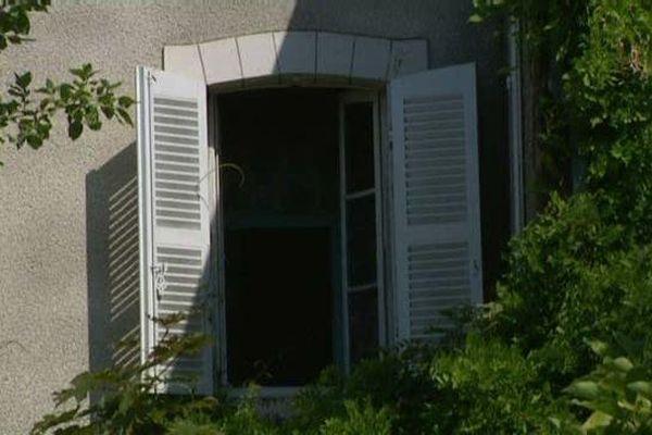 La maison de Colette à Saint-Sauveur en Puisaye, dans l'Yonne