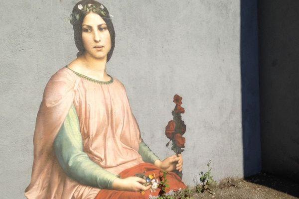"""""""Fleur des champs"""", de Louis Janmot"""