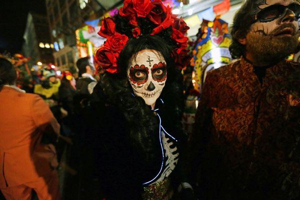 La nuit d'Halloween est souvent agitée à Rennes / © Peter Foley - Maxppp