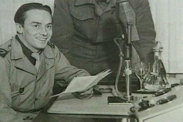 Pierre Bourdan au micro de la BBC dés juillet 1940