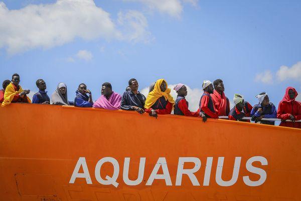 Plus de 30 000 personnes ont été secourues depuis 2016 par l'Aquarius en Méditerranée.
