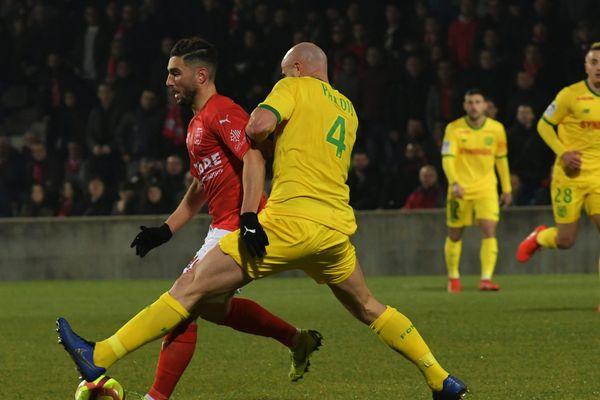 Nîmes s'est imposé face à Nantes lors de la 17ème journée de Ligue 1 - 16 janvier 2019