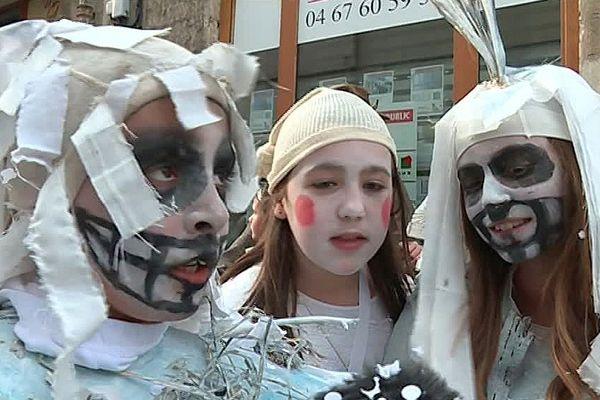 Montpellier - le carnaval occitan des calendrettes - 2017