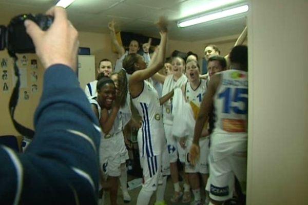 Les basketteuses de Lattes qualifiées pour la finale de la coupe de France 2013.