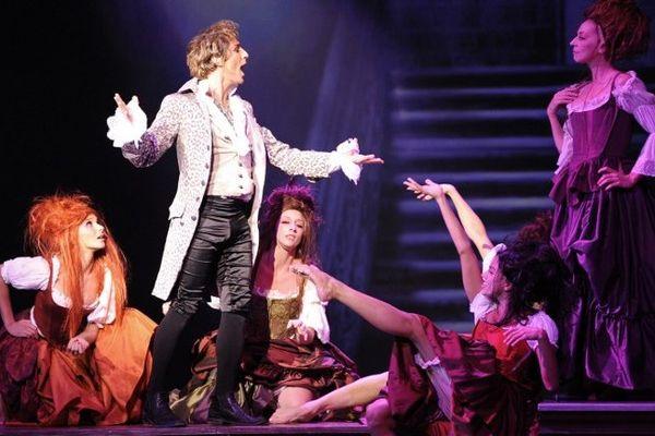 L'opéra Rock Mozart au Palais des Sports en 2009.