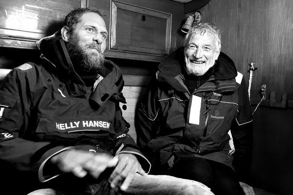 Mark Slats et Jean-Luc Van Den Heede, février 2019