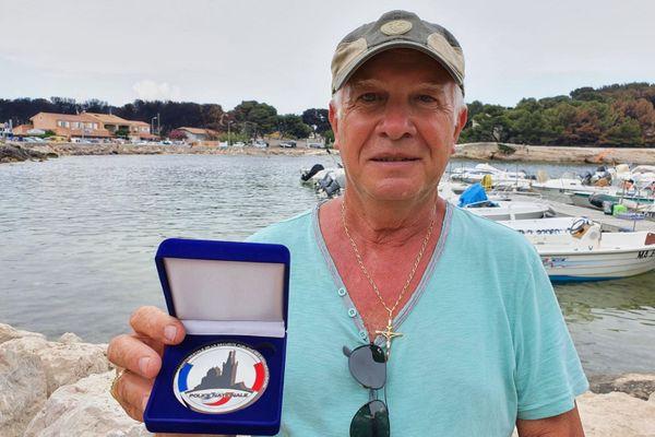 Gérard Masselis a mis à l'abri des dizaines de personnes, ce soir-là, avec sa petite embarcation