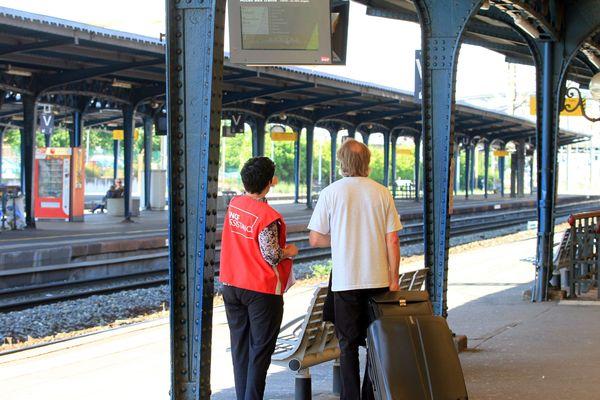 Certains trajets au départ et à destination de la gare de Colmar (ici en 2014) bénéficieront OuiGo, l'offre à bas coût de la SNCF, à partir du 7 juillet 2018.