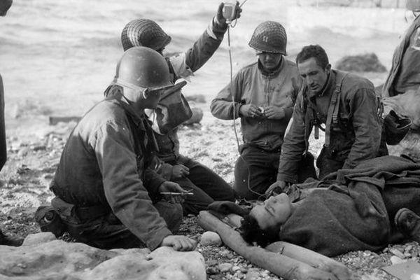 Omaha Beach 12 juin 1944