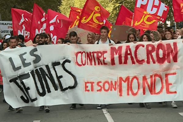 Les manifestants à Toulouse