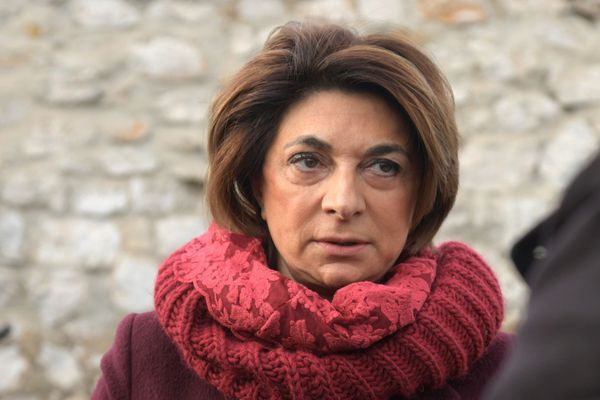 Illustration. Martine Vassal, candidate officielle LR pour les élections municipales à Marseille.