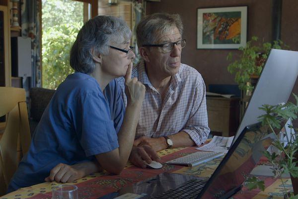 Collectif citoyens forestiers : Isabelle et Frédéric