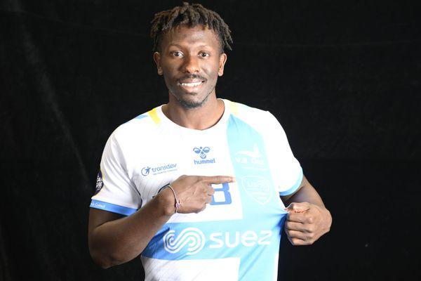 Le capitaine de l'équipe professionnelle de l'US Créteil handball, Boïba Sissoko. Photo fournie par l'USCHB.
