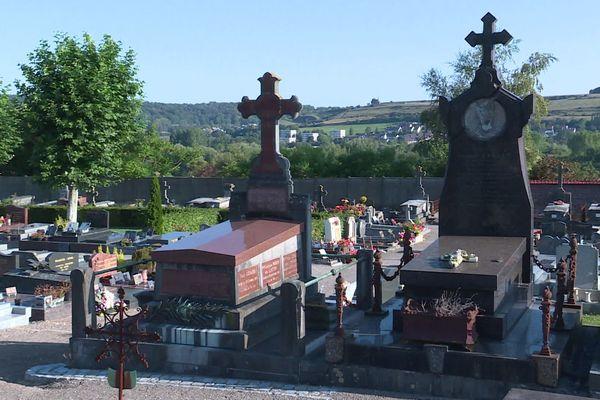 Le cimetière d'Eu