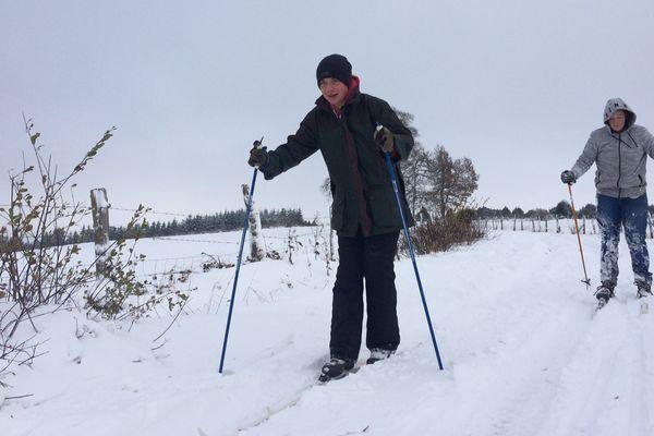 Fermées depuis quatre ans, les pistes de ski de fond ont rouvert, le 2 décembre 2017, dans la petite station creusoise de Gentioux-Pigerolles.