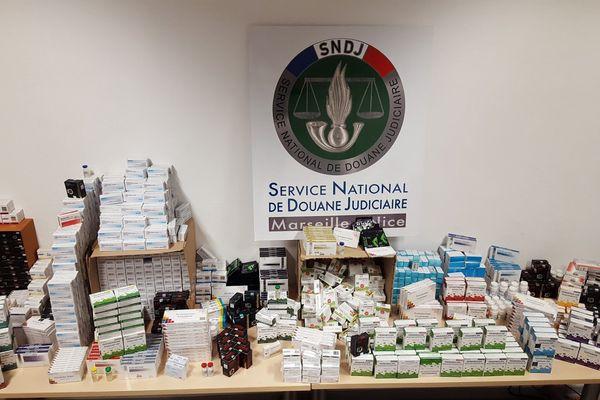 La saisie de médicaments anabolisants qui venaient de Bulgarie.