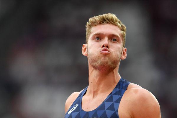 Kevin Mayer aux championnats du monde d'athlétisme à Londres le 11 août 2017