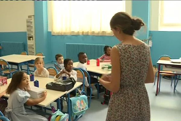 Une classe de Saint-Denis.
