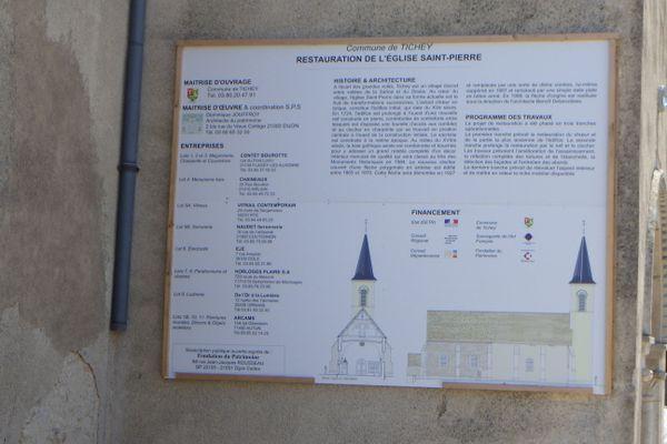 Le programme de restauration de l'église Saint-Pierre prévoit trois tranches de travaux.