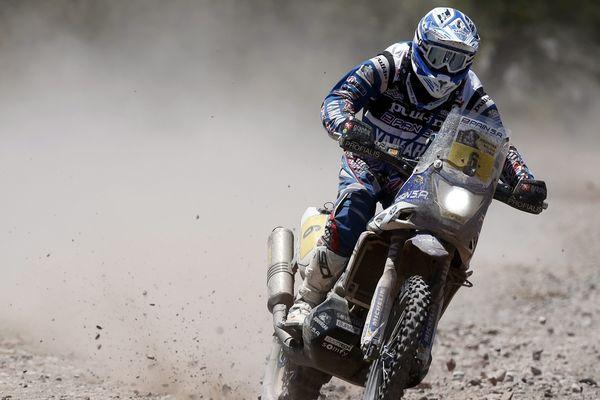 Olivier Pain sur le Dakar 2014