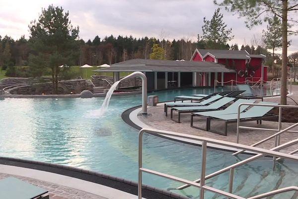 L'extérieur du nouvel espace aquatique à Europa-Park.