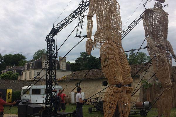 La compagnie l'Homme debout ouvre ses portes au public le 30 mai à Vouneuil sous Biard (Vienne)