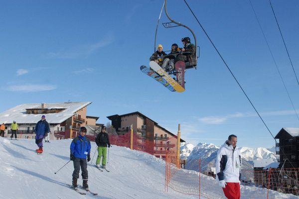 Risoul se prépare à accueillir les premiers skieurs